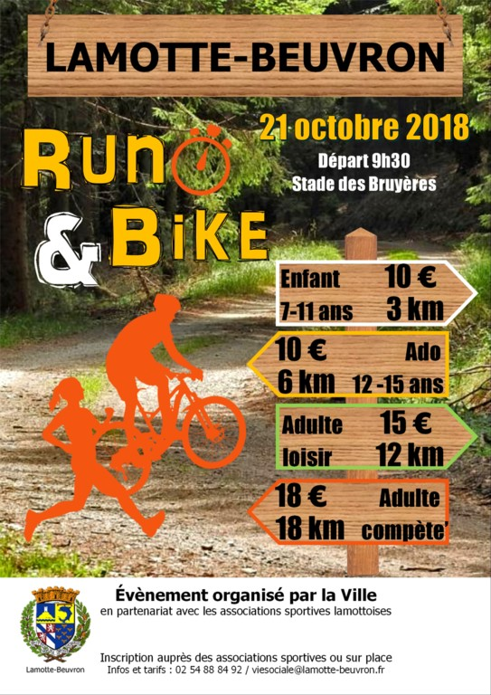 Run & Bike de Lamotte Beuvron